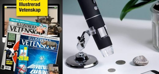 Illustrerad Vetenskap + WiFi-mikroskop premie